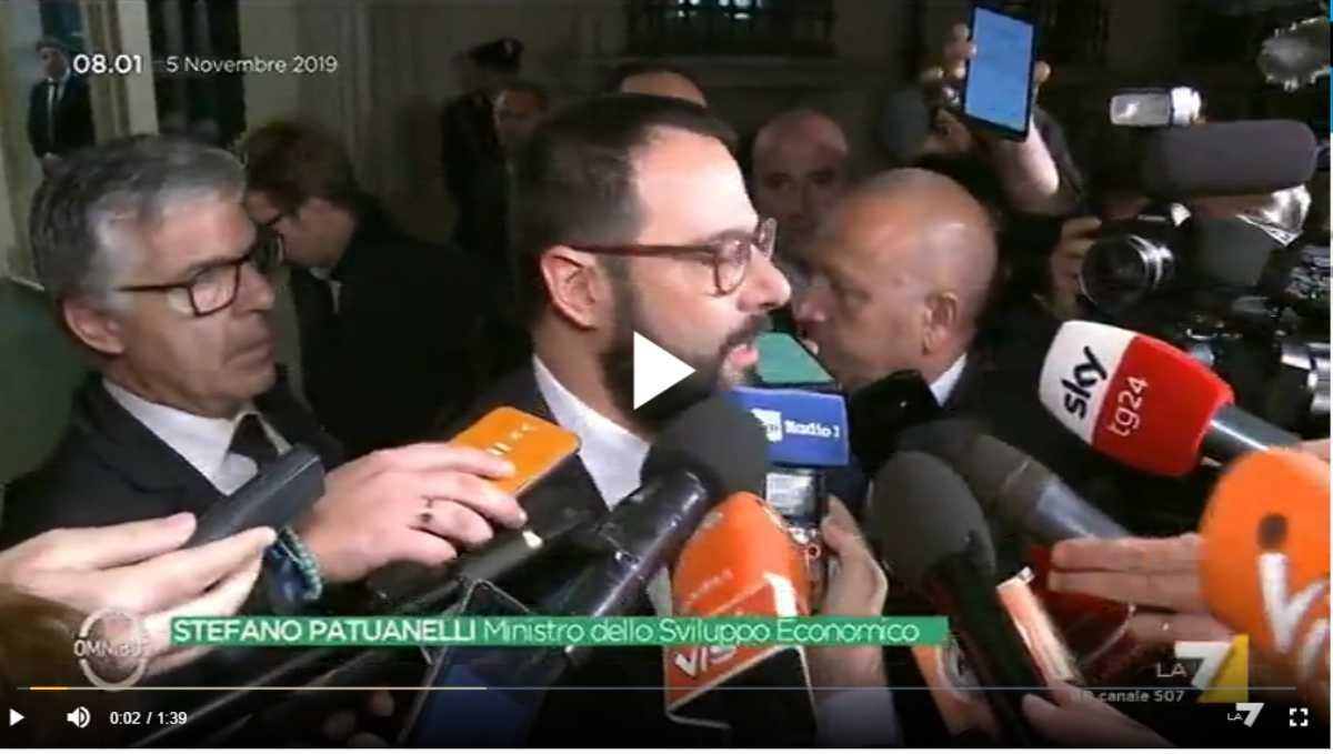ILVA, interviene il Ministro Stefano Patuanelli