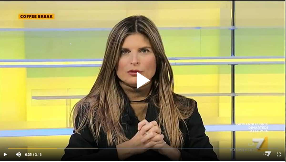 Laura Ravetto Ilva Coffee Break