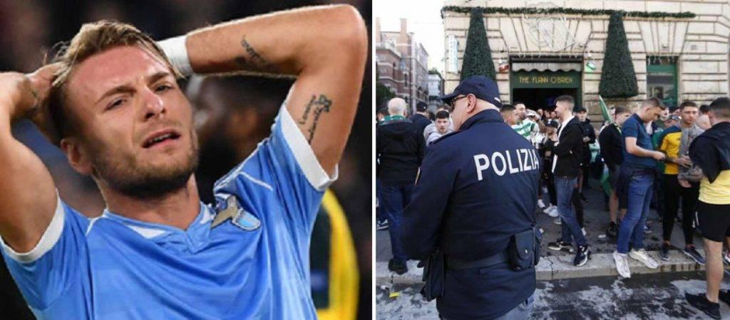 Roma Lazio - Celtic 12 ultras arrestati per accoltellamento