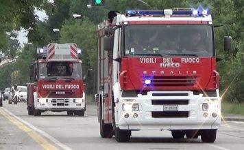 Maltempo pompieri