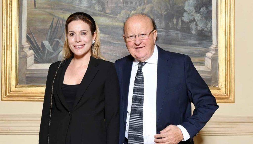 Massimo Boldi e Irene Fornacciari