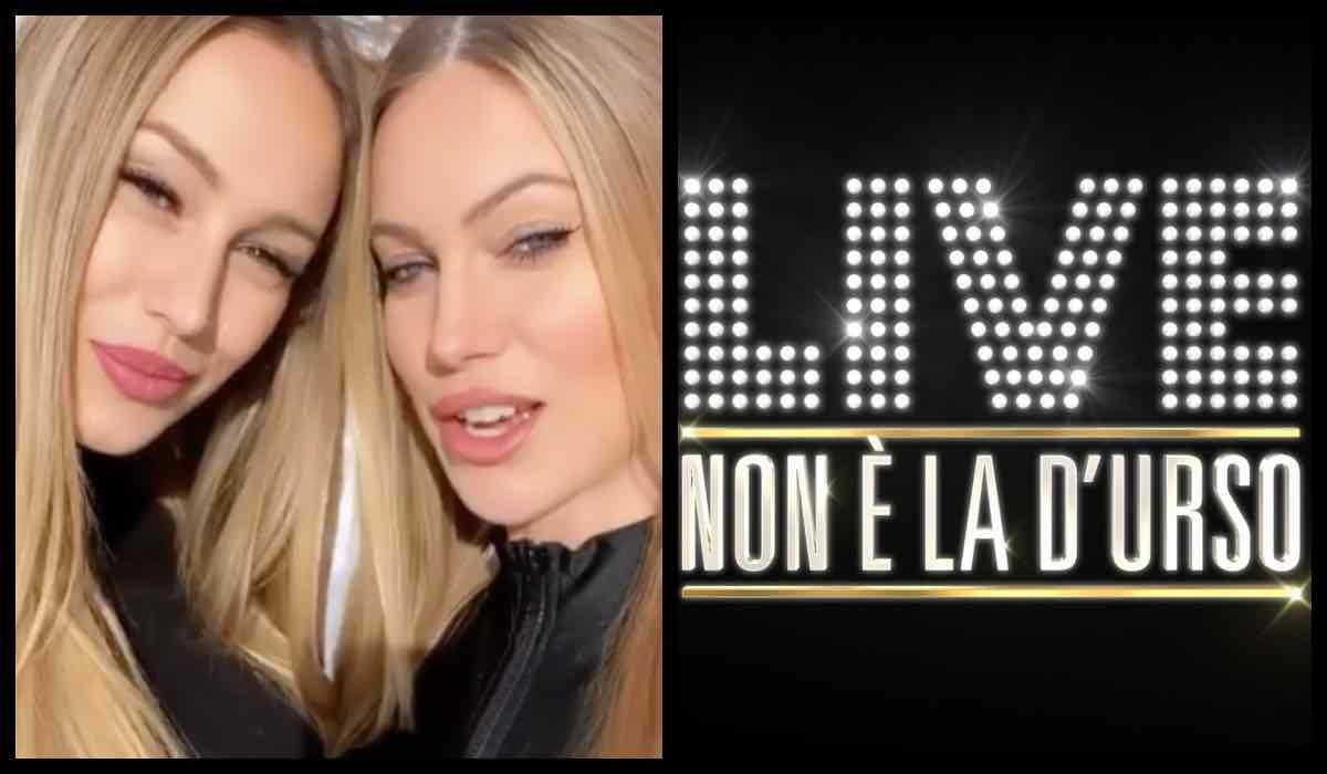 Taylor e Jade Mega, lo scontro a Live non è la D'Urso: anticipazioni
