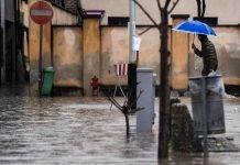 Fenomeni alluvionali in nord Italia