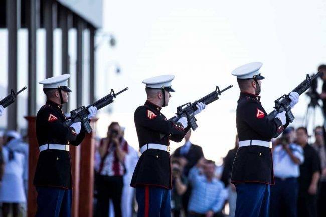 Celebrazione della commemorazione dell'attacco alle Hawaii (Getty Images)