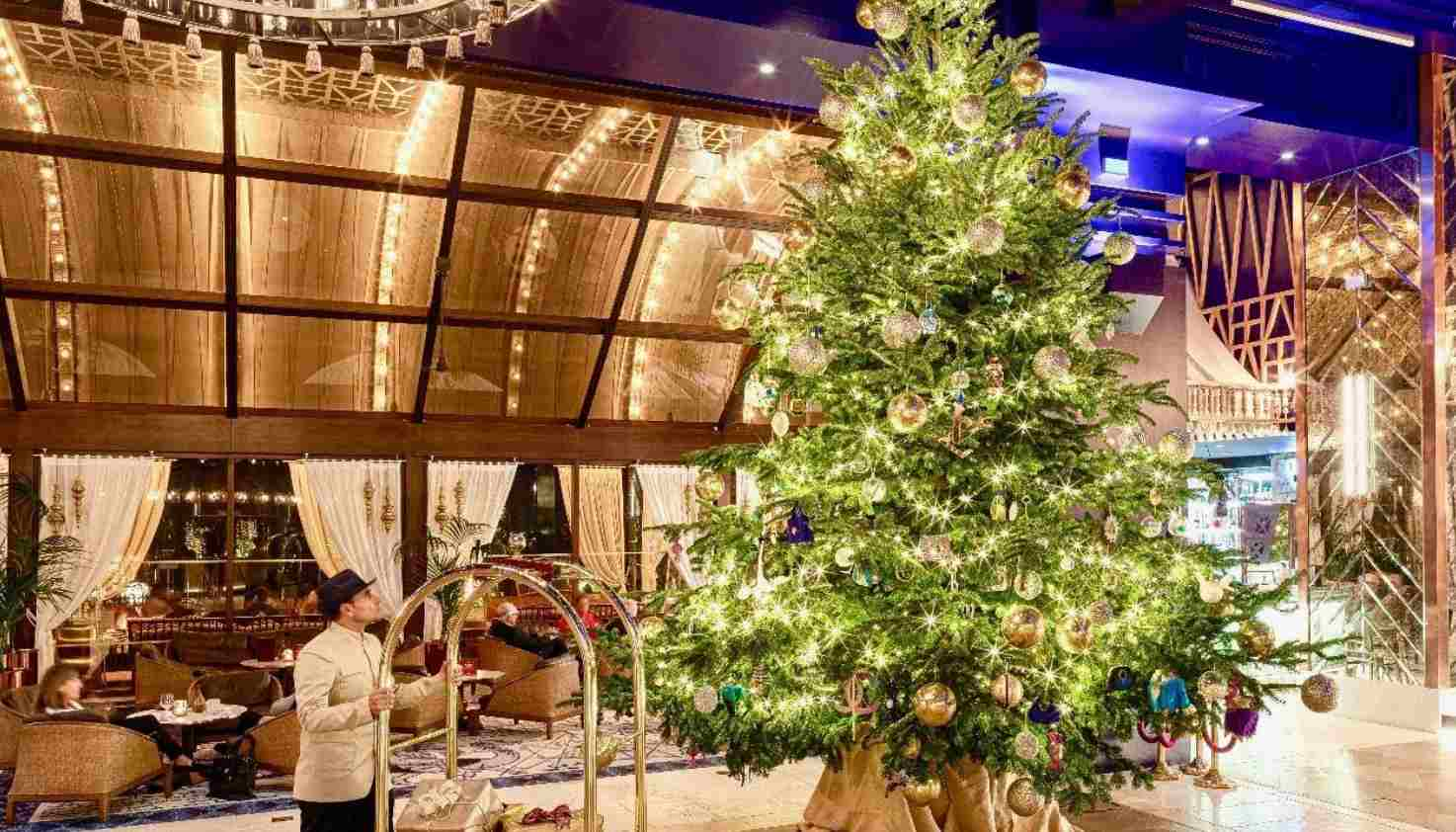 Albero di Natale a Marbella