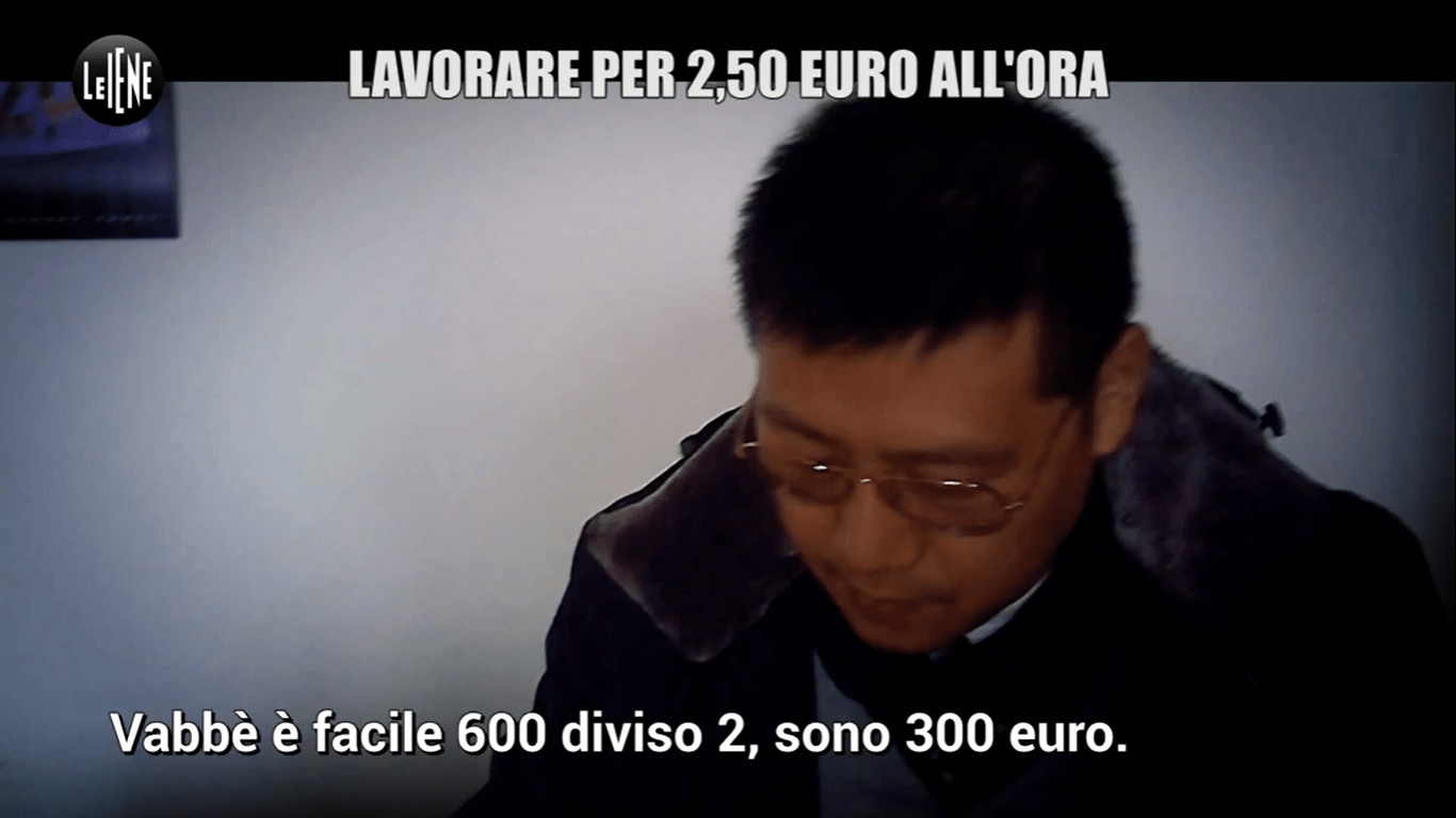Servizio Le Iene cinesi