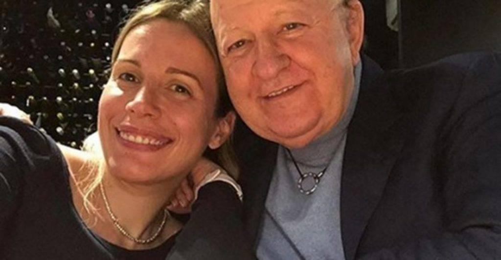 Massimo Boldi e Irene Fornacciari (Facebook)