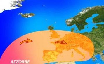 Spaventoso anticiclone in arrivo sull'Europa. Cosa accadrà