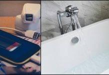 Incidente terribile, smartphone in corrente cade nella vasca: folgorata