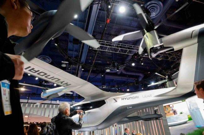 Hyundai e Uber lavorano insieme: progetto taxi volante