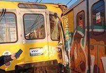 Metro scontro treni Napoli