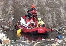 Follia nel casertano: scoperto un lago colmo di rifiuti