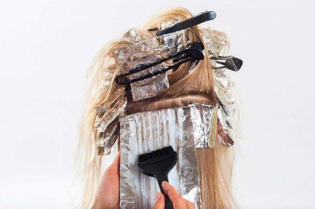 Colpi di luce ai capelli