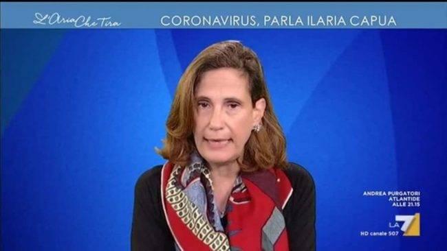 L'allarme della virologa Ilaria Capua: