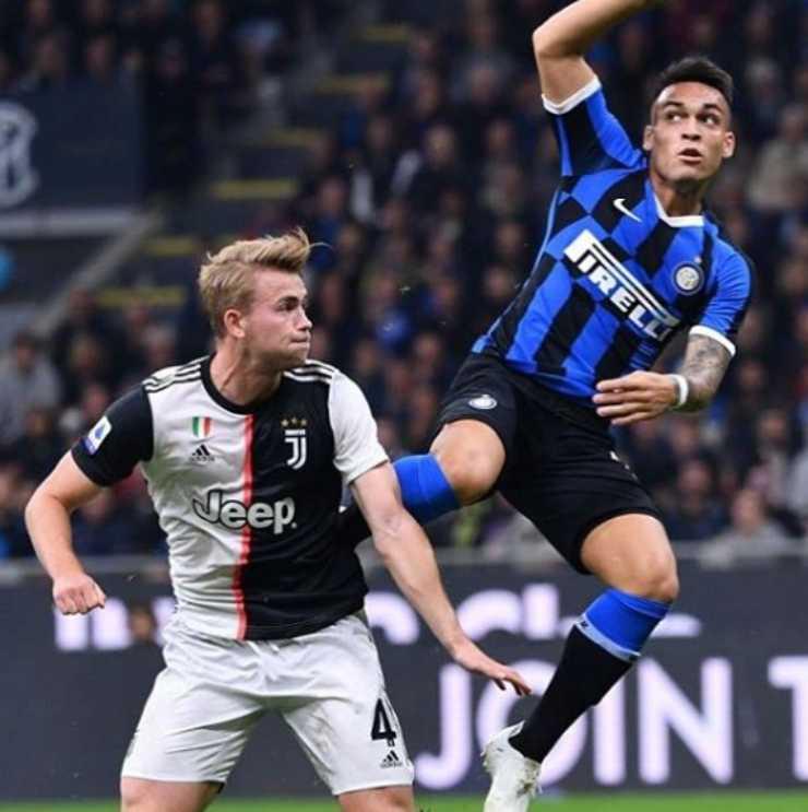 Coronavirus, Juventus- Inter