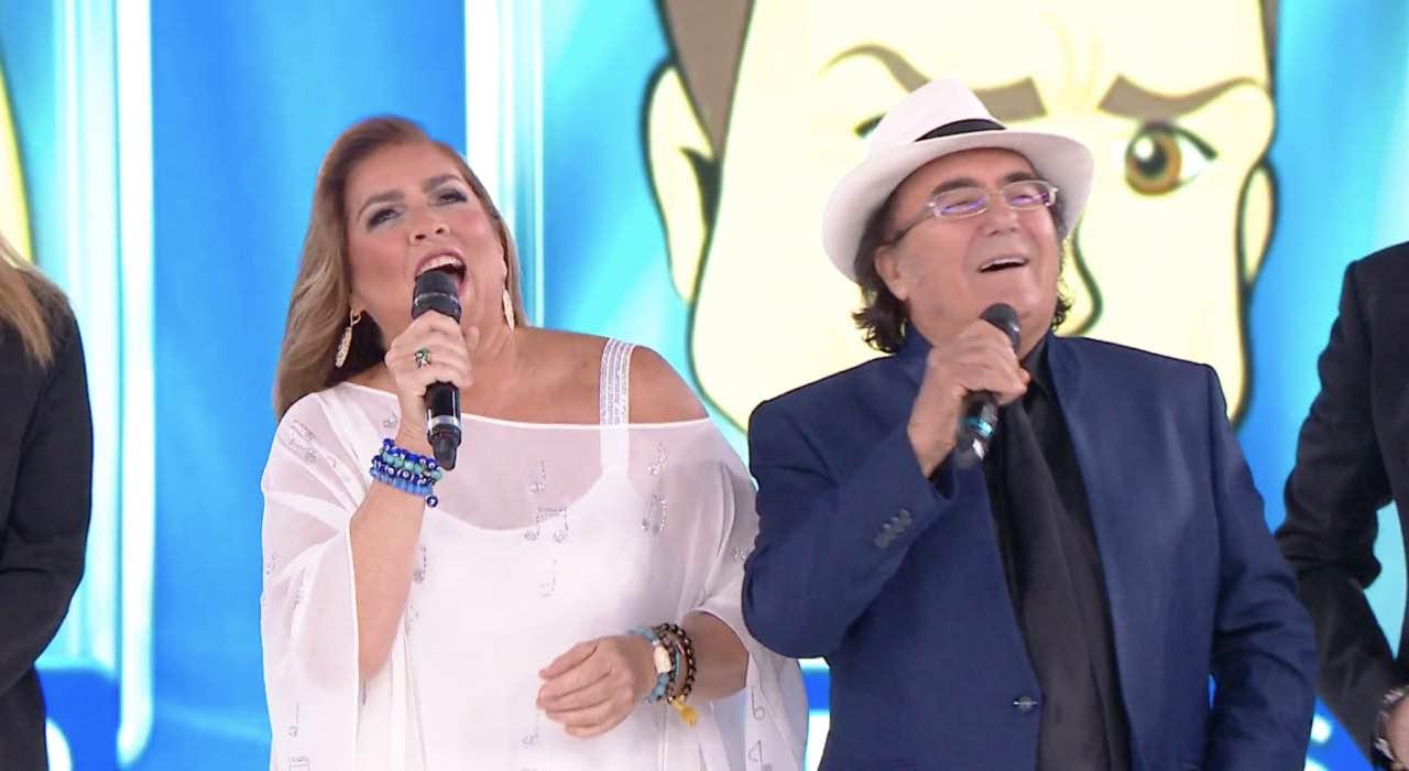 """Romina Power e Albano: show e """"felicità"""" ad Amici di Maria De Filippi - VIDEO"""