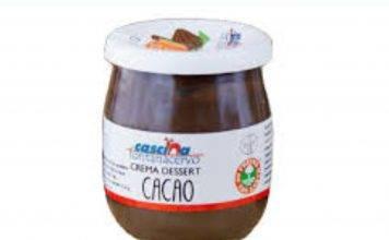 Crema di cacao ritirata dal mercato: frammenti di vetro nel