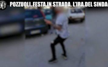 """Coronavirus, festa in strada a Pozzuoli. Il sindaco: """"Scanda"""