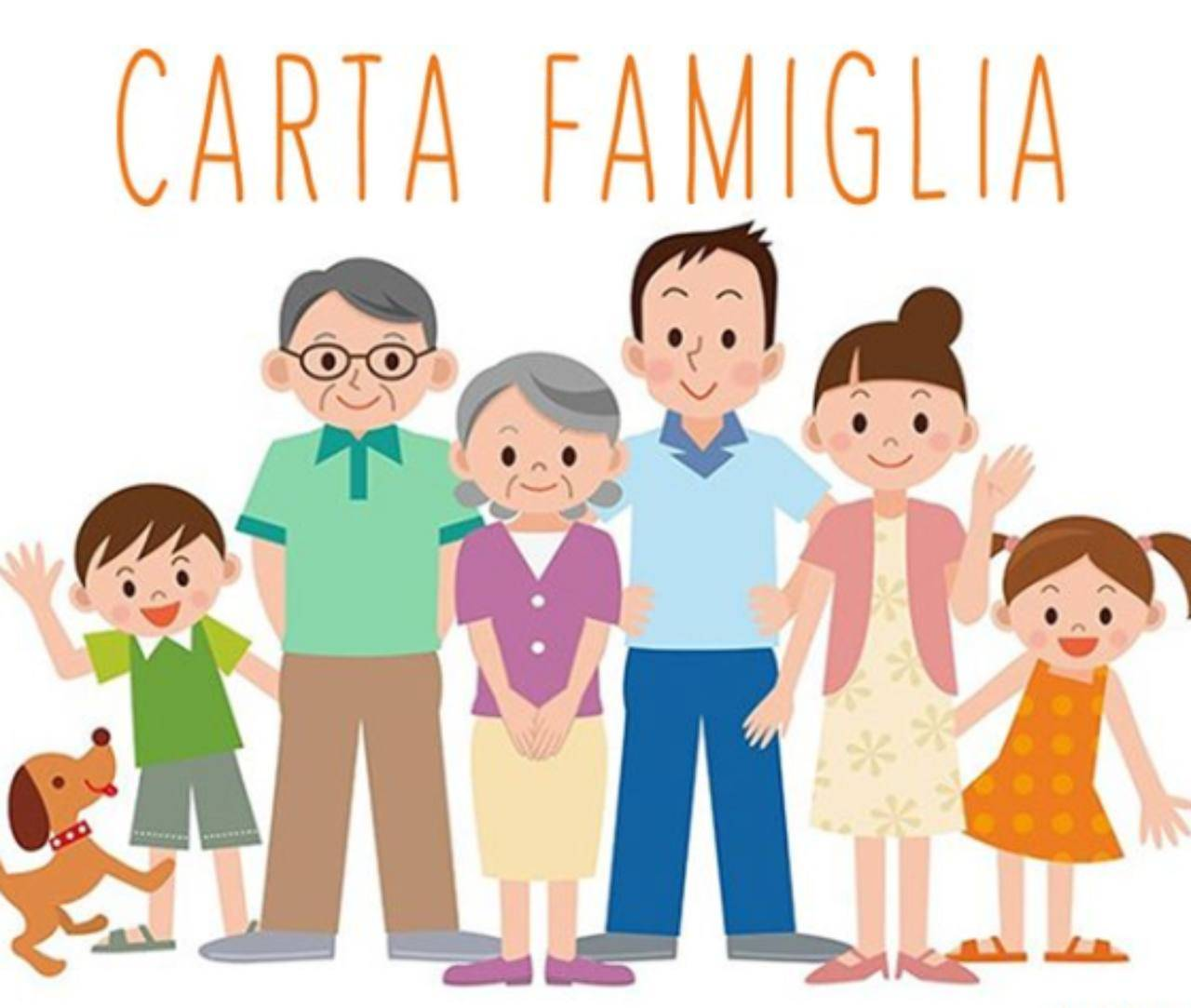 Carta famiglia 2020