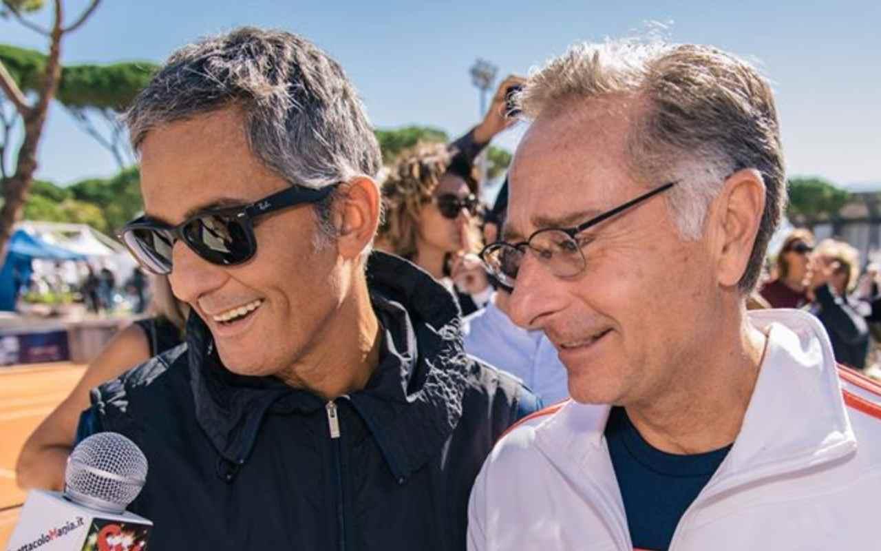 Fiorello e Paolo Bonolis