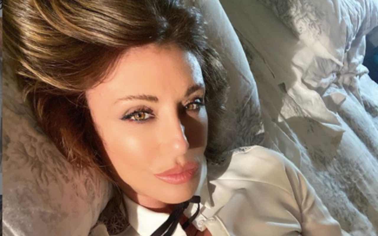 Sabrina Salerno turbata: l'accaduto la riporta ad un anno fa
