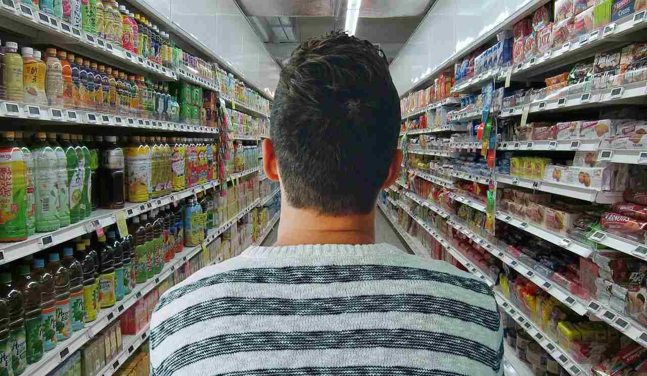 Coronavirus, Supermercato