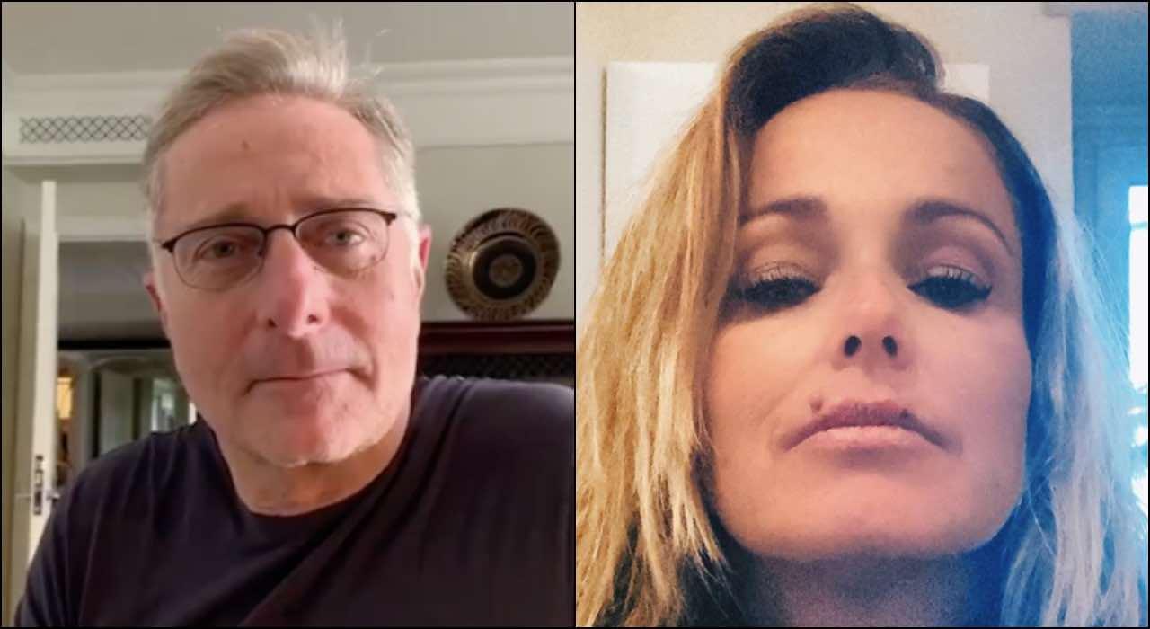 """Paolo Bonolis, la moglie Sonia Bruganelli: """"abbraccio dopo 15giorni"""""""