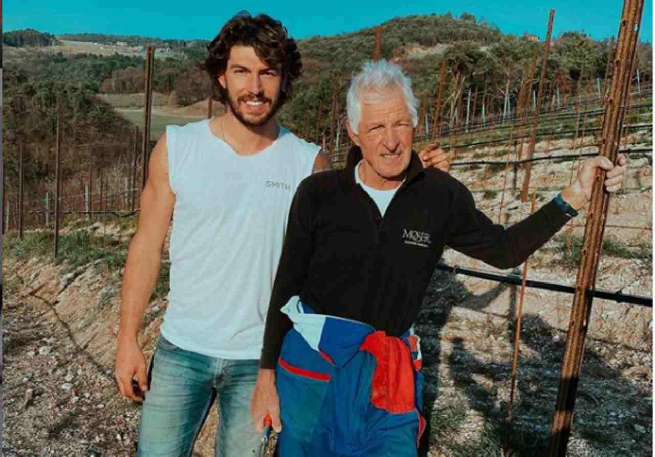 Ignazio e Francesco Moser, la quarantena con Cecilia...