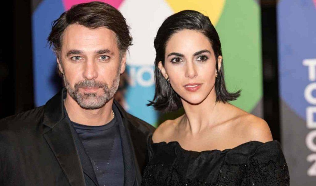 Raoul Bova e Rocio Morales (fonte da gettyimages)
