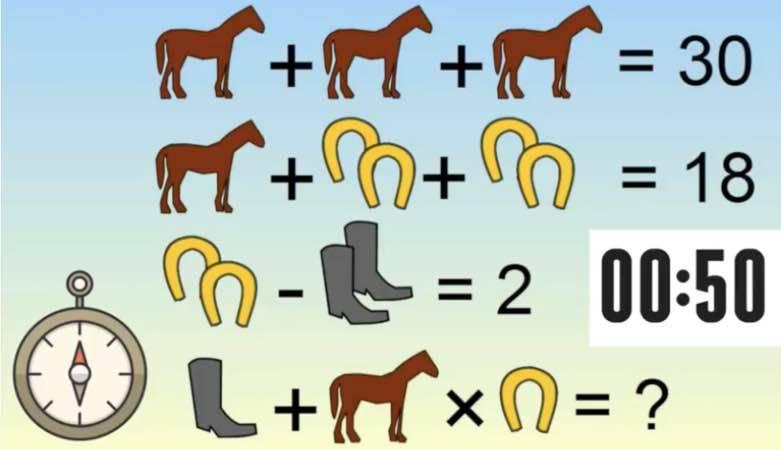 Test rompicapo: sei tra i pochi che risolvono l'indovinello?