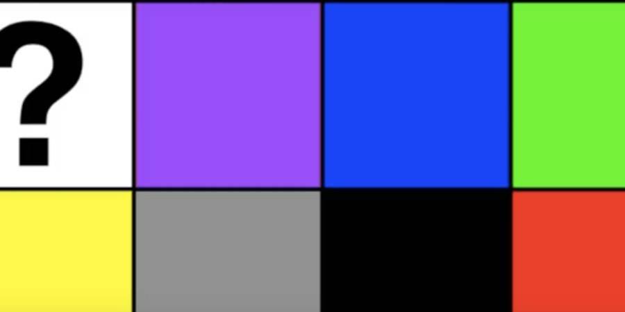Test personalità: scegli tra i colori nell'immagine e scopri chi sei