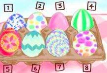 Test personalità: l'uovo di Pasqua che scegli ti dirà chi sei