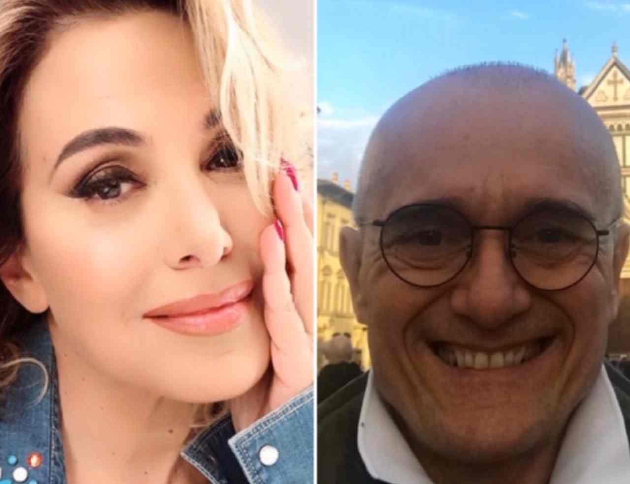 Barbara D'Urso e Alfonso Signorini (fonte da @carmelitabarbaradurso e @alfosignorini)