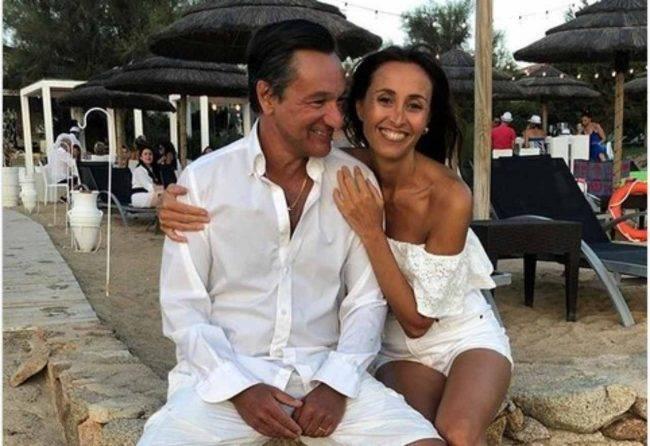 Fabio Caressa e Benedetta Parodi (fonte Instagram @ziabene)(1)