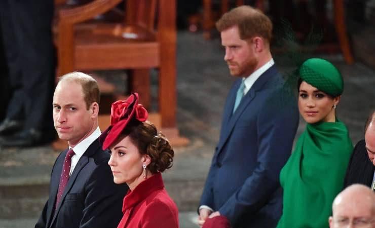 Meghan Markle e Harry, gesto di pace con Kate e William?