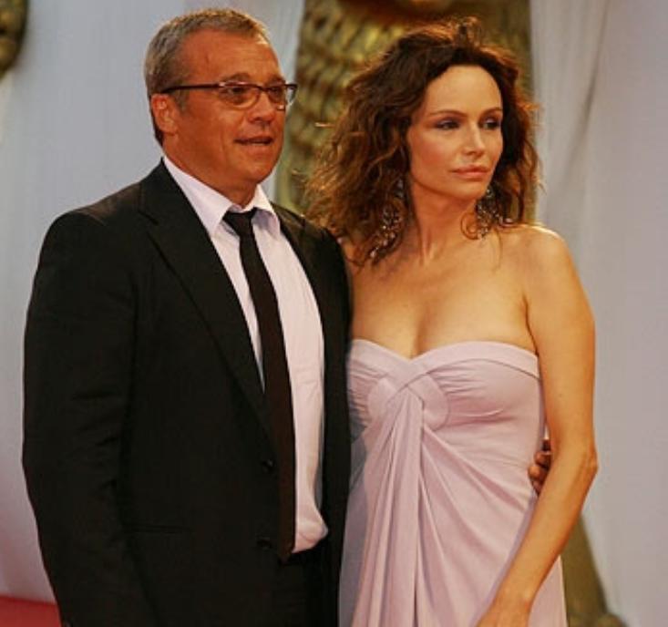 Francesca Neri e Claudio Amendola