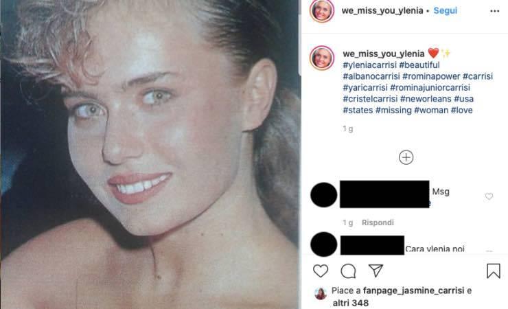 """Ylenia Carrisi, una vecchia foto commuove i fan: """"la più bella"""""""