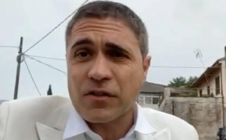 Striscia la notizia Moreno Morello aggredito