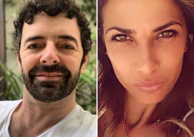 Alberto Matano e Roberta Morise (fonte Instagram @robertamorise e @albertomatano)