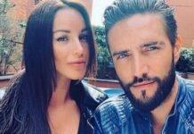 Alex Belli e Delia Duran (fonte Instagram @alexbelli)