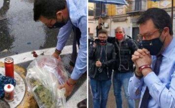 """Matteo Salvini salvato dalla polizia a Napoli: """"Non ti vogli"""
