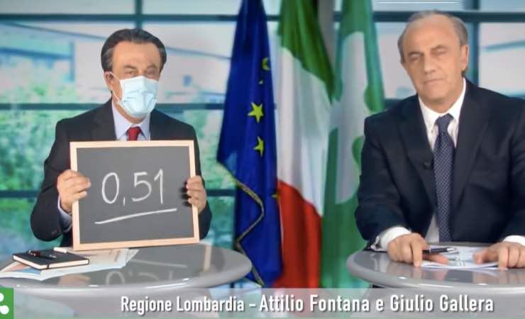 """Crozza, Fontana e Gallera: """"La gente è cretina"""""""