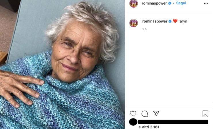 Romina Power in lutto, commovente addio alla sorella Taryn