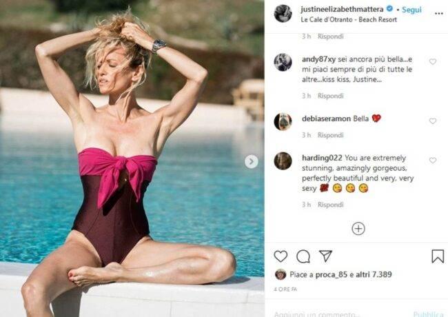 Justine Mattera (fonte Instagram @justineelizabethmattera)