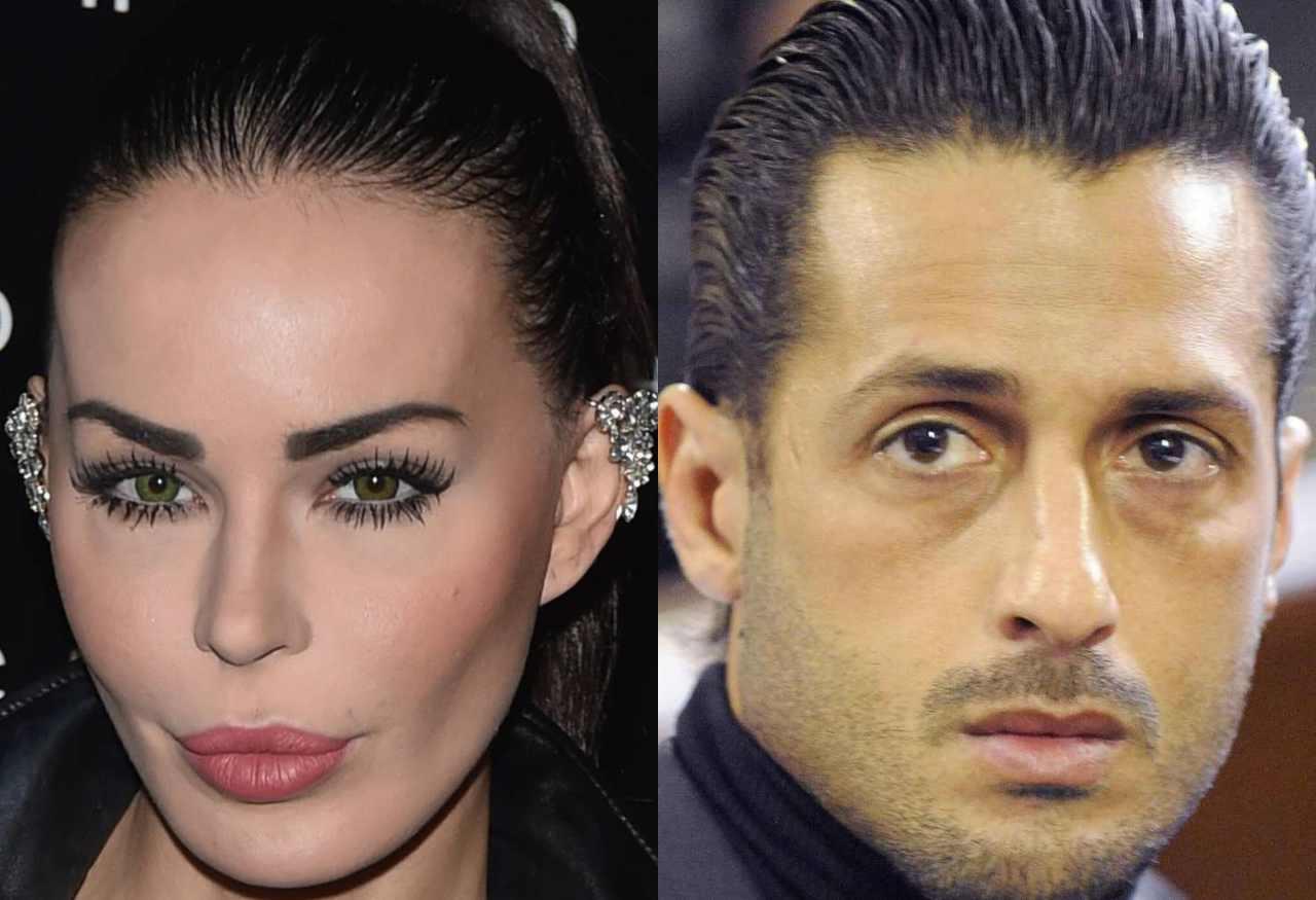 Nina Moric e Fabrizio Corona (Fonte foto: Getty Images)