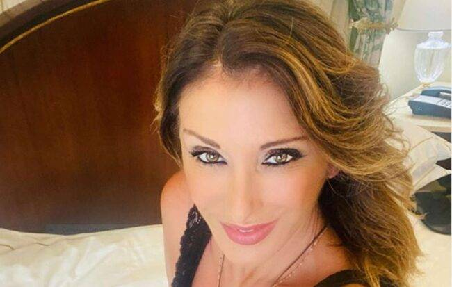 Sabrina Salerno come Madre Natura