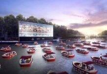 Parigi, ecco il primo cinema galleggiante del mondo