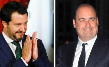 """Migranti oggi sbarcano, Zingaretti: """"Bene!"""" Salvini: """"E chi"""