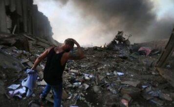 Esplosioni a Beirut, il VIDEO più spaventoso: alla finestra tre bambini e una donna