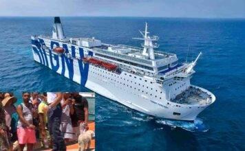 Grande, comoda e costosa: pronta la seconda nave quarantena per immigrati